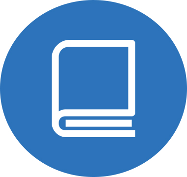 Icon image of a book