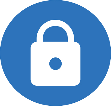 Icon image of a lock