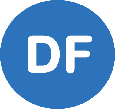 Icon image that reads DF