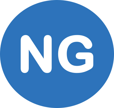 Icon image that reads NG