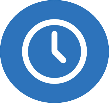 Icon image of a clock