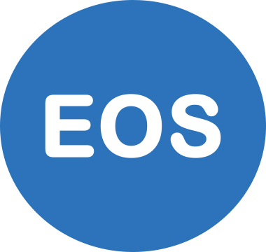 Icon image that reads EOS
